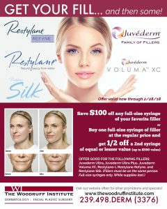 Save On Your Favorite Fillers | The Woodruff Institute